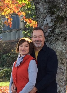 Russ Gilsdorf and Linda McIntyre worked with Hartley Jewelers to create a custom engagement ring based on an antique original from Russ's family.