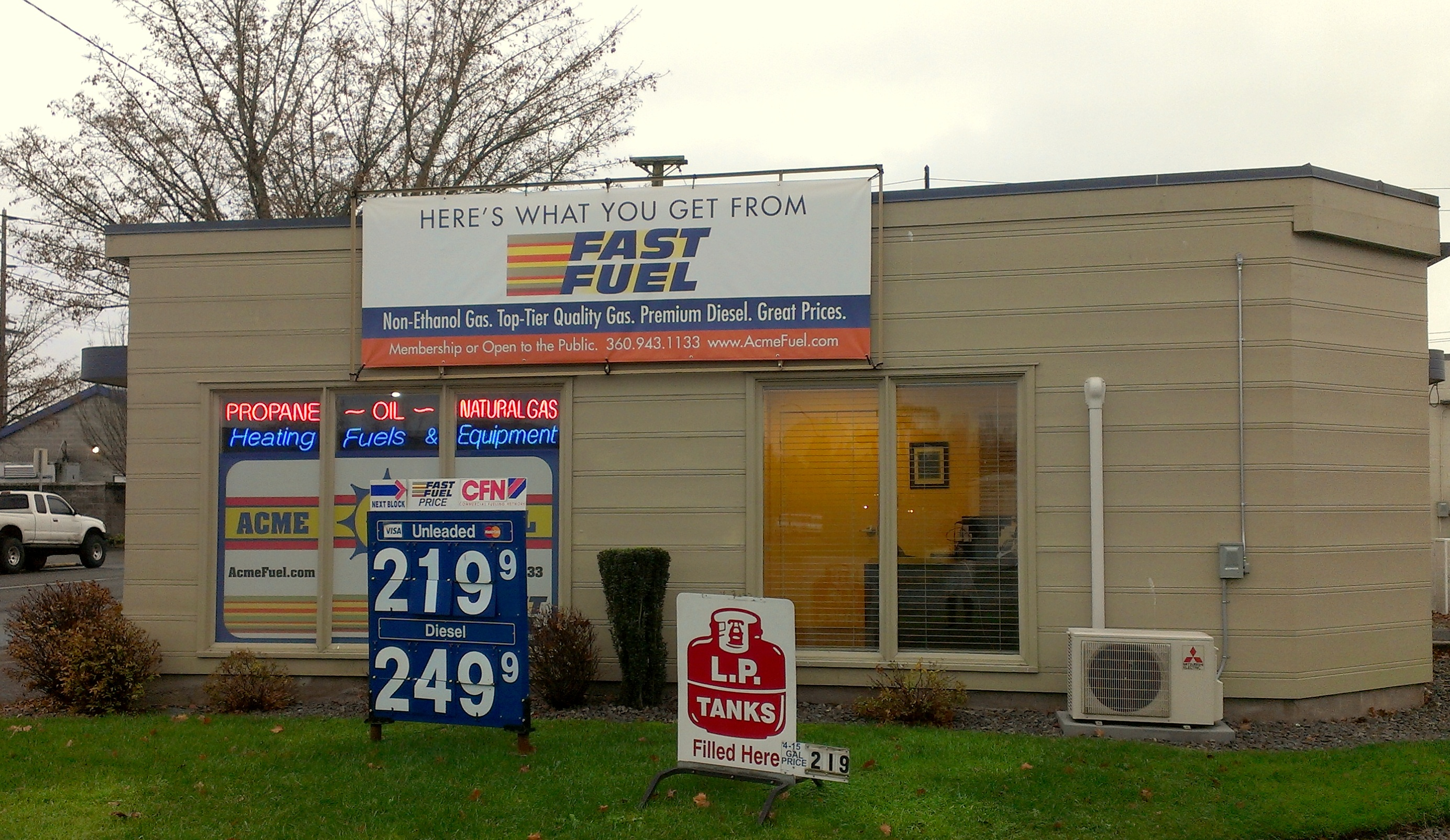 Non Ethanol Gas Near Me >> Acme Saves Local Engines With Non Ethanol Fuel Thurstontalk