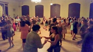 Thurston County dancers enjoy east and west coast swing dancing at the Eagles Ballroom in downtown Olympia each Tuesday night.