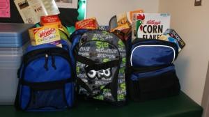 homeless backpacks