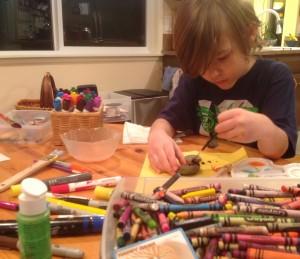 art kids crayons