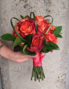 choosing floral bouquets