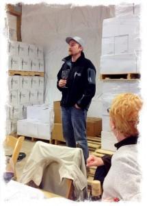 Westport Winery's winemaker, Dana Roberts
