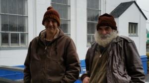 homeless volunteers