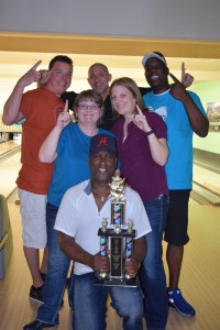 "The winning team, ""The Mixer"", from the 2015 Cops vs. Firefighters Bowl loved raising funds for Big Brothers Big Sisters Southwest Washington."