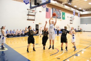 McGill's record 456 rebounds this season shows her drive and dedication to the game and to her teammates.