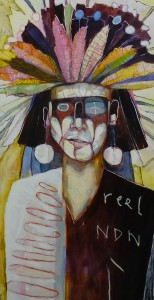"""Heyoka"" by Ka'ila Farrell-Smith (Klamath)"