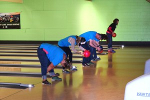 Bowling skills are not required to participate in the Big Brothers Big Sisters Bowl for Kids Sake event