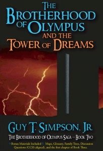 The second book in The Brotherhood of Olympus series, this new novel will continue the story told in Simpson's best-selling first book.