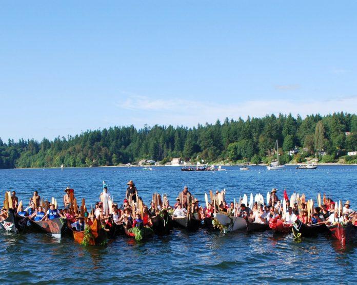 canoe journey volunteers