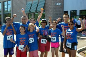 The Lacey Days Thrive 5k is an event for the whole family.
