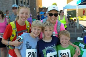 Lacey Days Thrive 5k this year includes a Kids Dash.