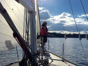 sailing race female crew