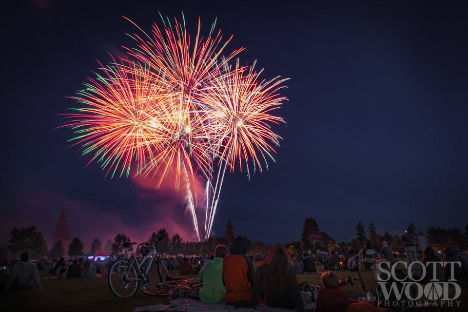 2017 Fourth Of July Fireworks Shows In Olympia Lacey And