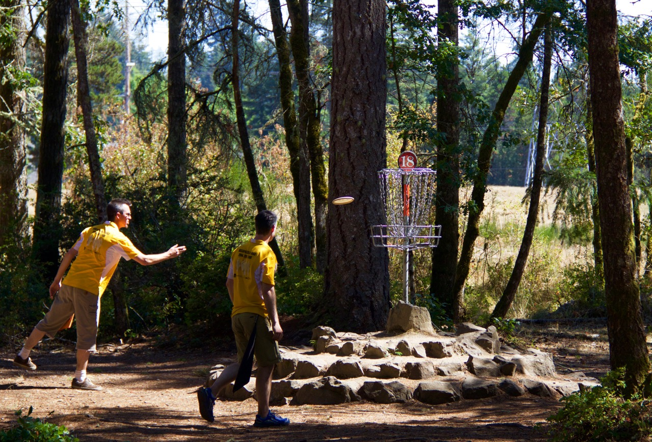Thrifty Thurston Plays Disc Golf in Olympia and Surrounding Areas - ThurstonTalk