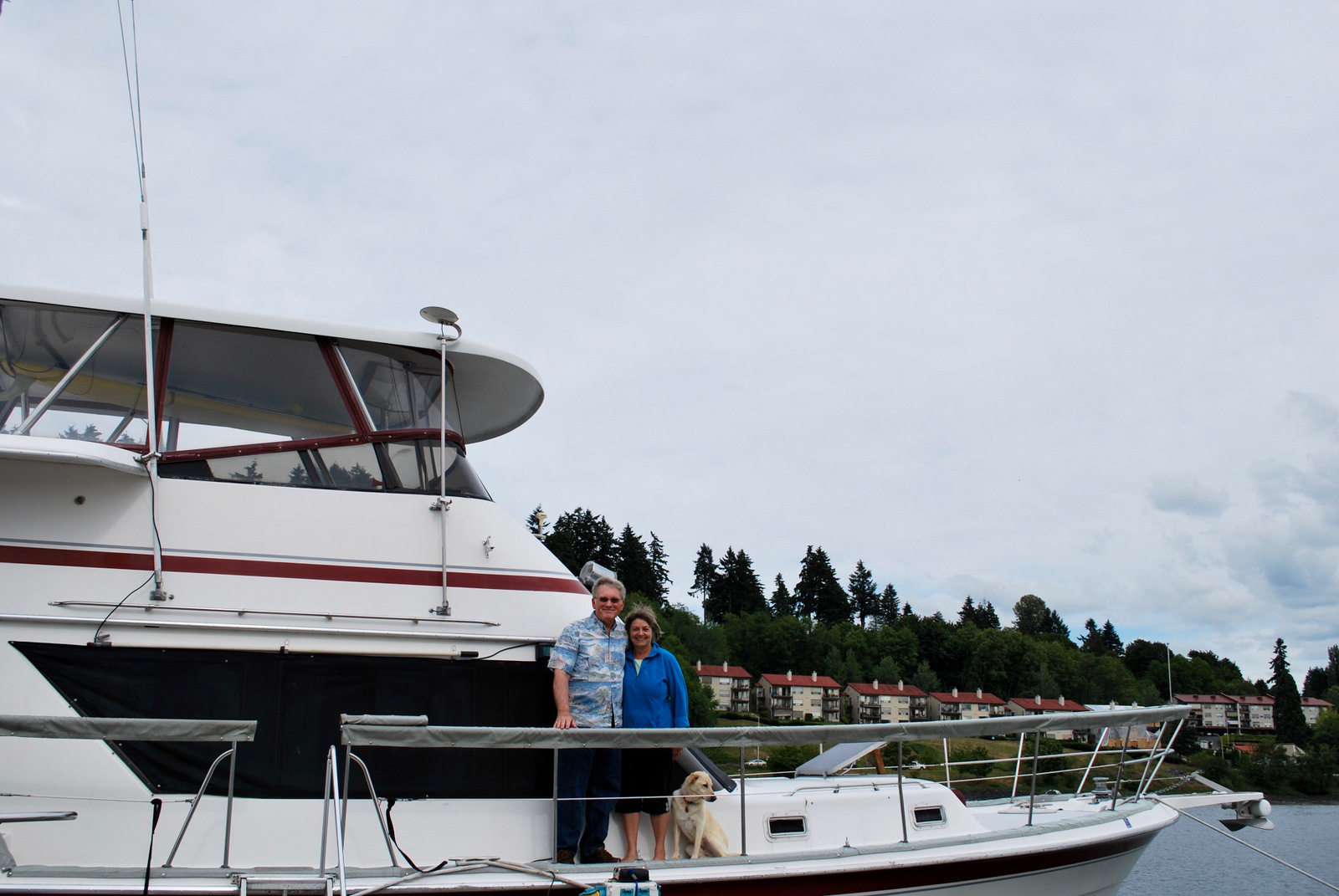 Eddy and Becky Miller: Loving Life Living Aboard at Swantown