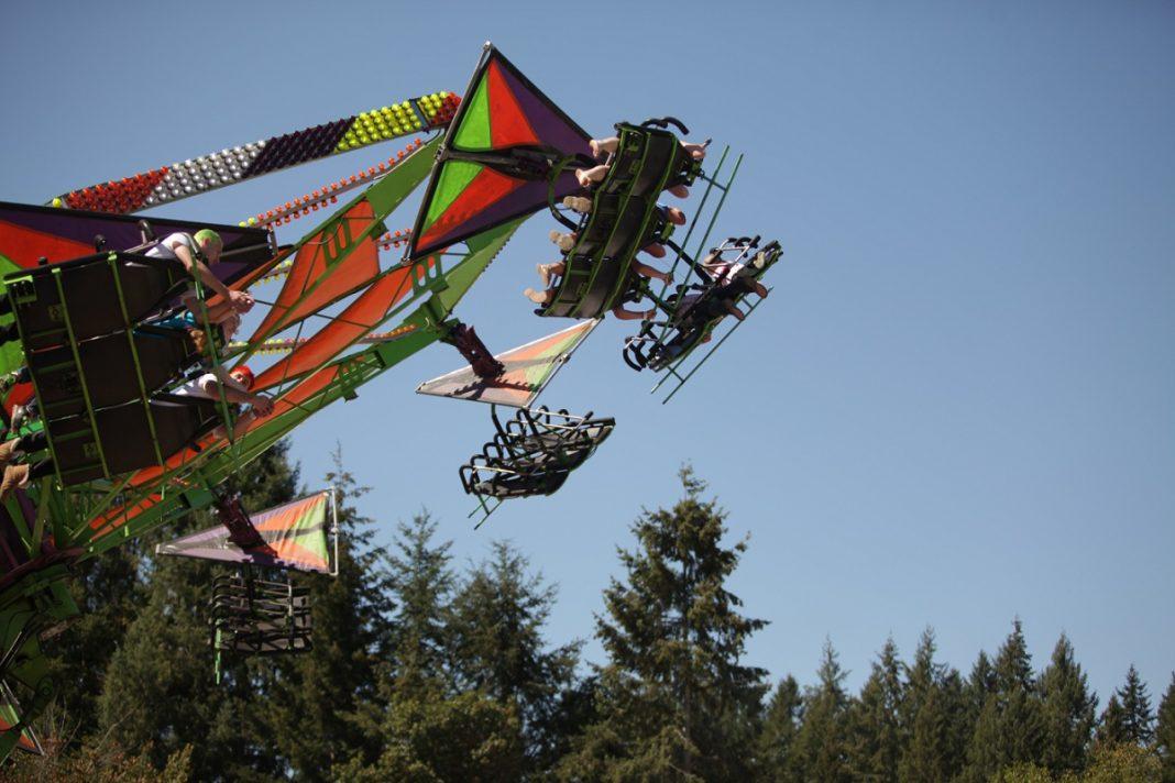 Thurston County Fair ride