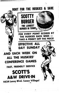 history newspaper advertisements
