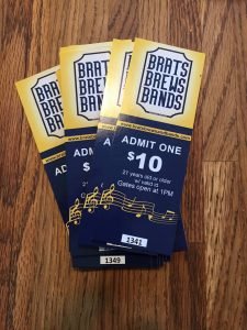 At only $10 each, tickets earn you access to the sprawling venue at The HUB in Lacey and all 10 live bands. Brats start at $5 each and all brews are just $5, too.