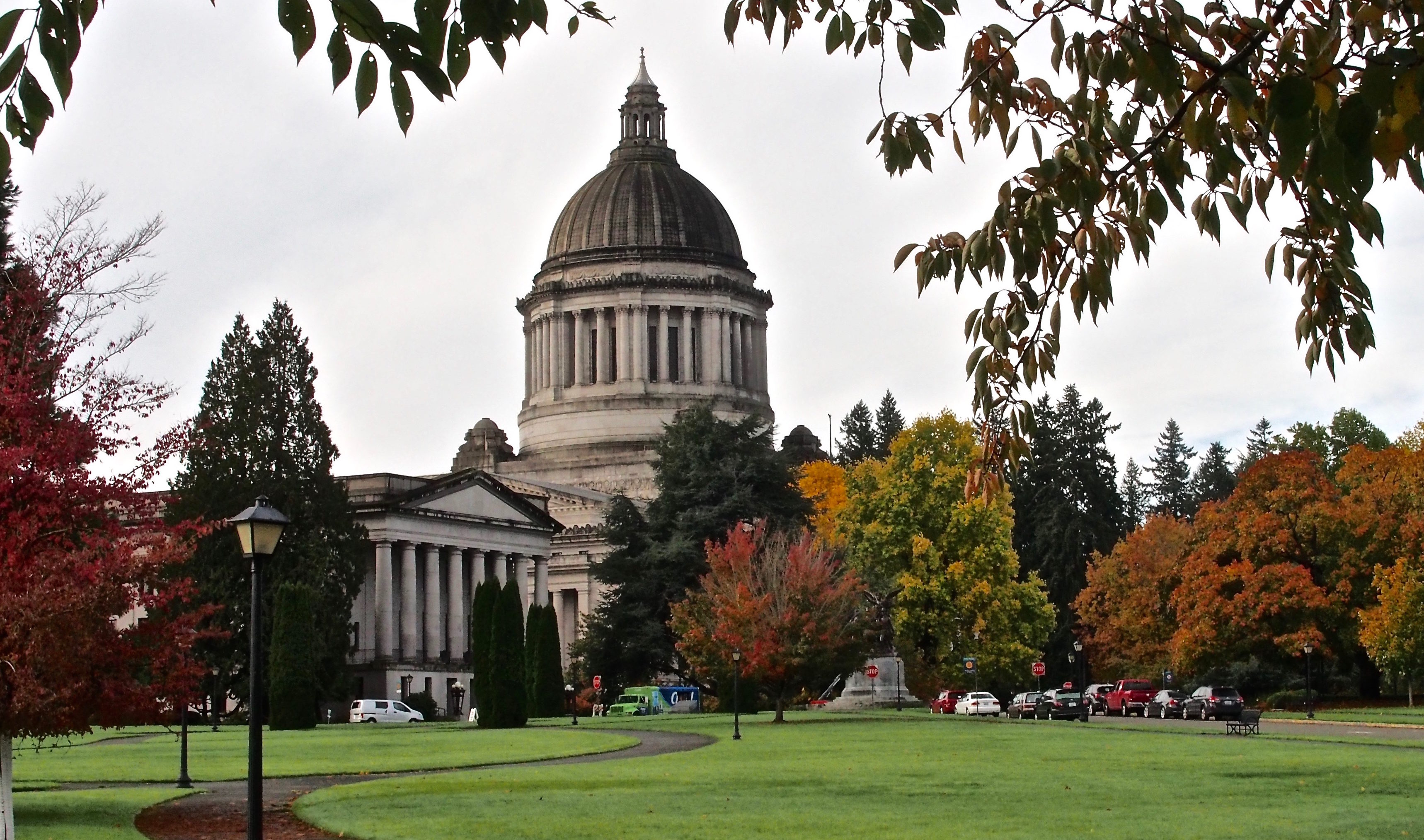 Thrifty Thurston Uses Olympia S Interactive Capitol Campus Map