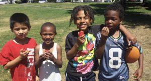 kids fresh produce
