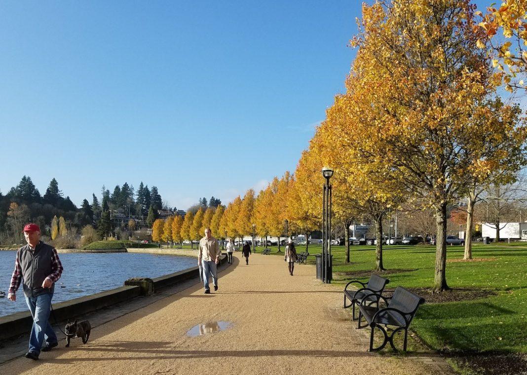 capitol lake walk