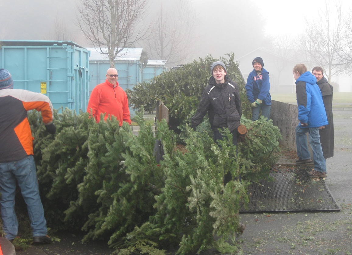 Recycling Is As Easy One Two Three Christmas Tree