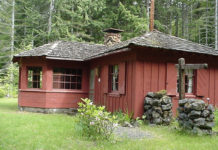olympic national forest cabin
