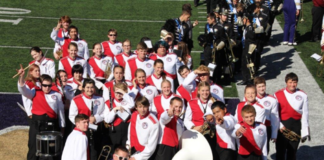 Tenino marching band