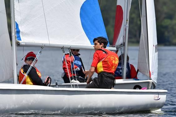 Olympia sailing