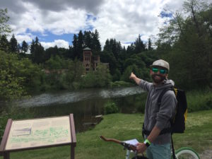 olympia bike beer tour