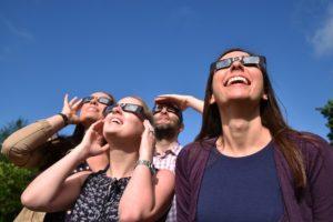 O Bee Credit Union Solar Eclipse