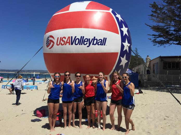 Samantha johnson volleyball