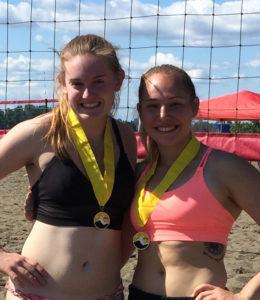 Samantha Johnson Beach Volleyball