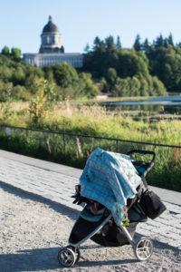 stroller walks olympia