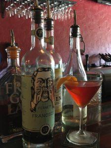 Iron Rabbit cocktails