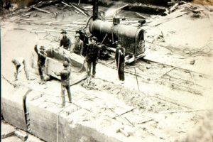 Tenino quarry history