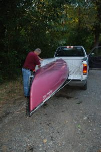 black river canoe