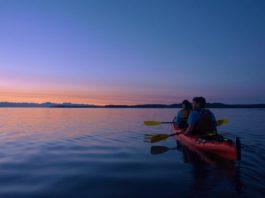 Kayak Nisqually Sunset Tour