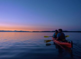 Kayak Nisqually Sunset Tour
