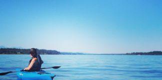kayak budd inlet