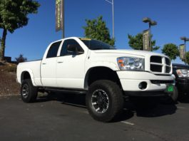 lifted trucks olympia