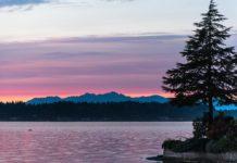 sunset Olympia Wa