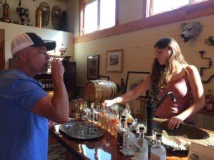 Spirits tasting Hardware Distillery