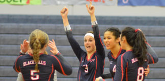 Black Hills volleyball