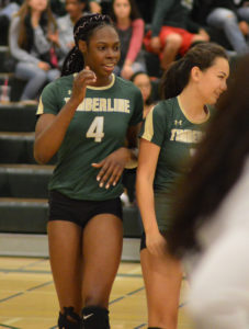 Kasey Louis, volleyball