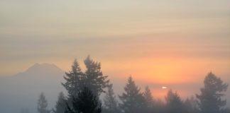 Olympia sunrise