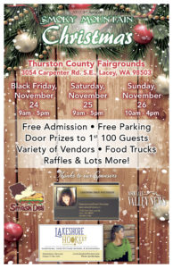 2017 3rd Annual Smoky Mountain Christmas Bazaar @ Thurston County Fairgrounds | Lacey | Washington | United States