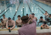 CHS boys swimming