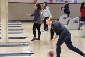 NTHS bowling team